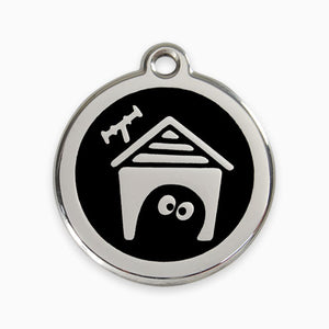 Enamel Tag Dog House (11 colours)