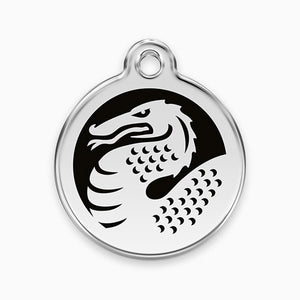 Enamel Tag Dragon (2 colours)