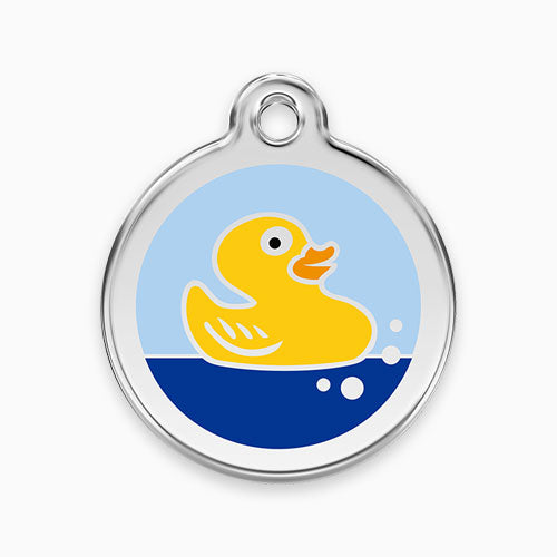 Enamel Tag Rubber Duck
