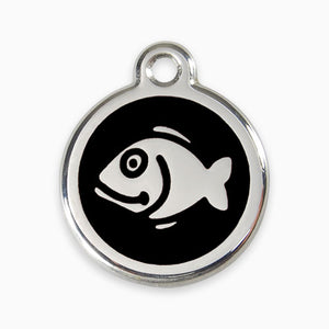 Enamel Tag Fish (11 colours)