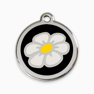 Enamel Tag Daisy (11 colours)