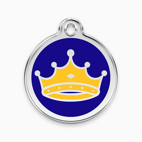 Enamel Tag King