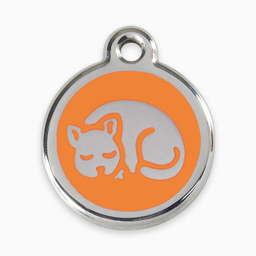 Enamel Tag Kitten (11 colours)
