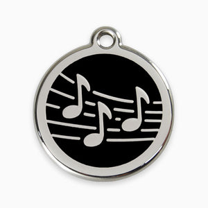Enamel Tag Music (11 colours)