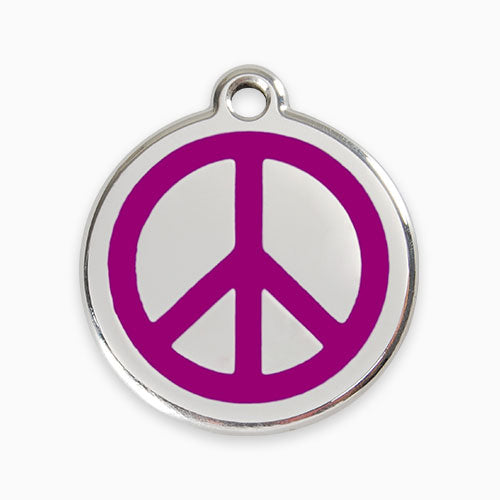 Enamel Tag Peace (11 colours)