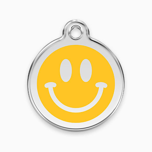 Enamel Tag Smiley Face
