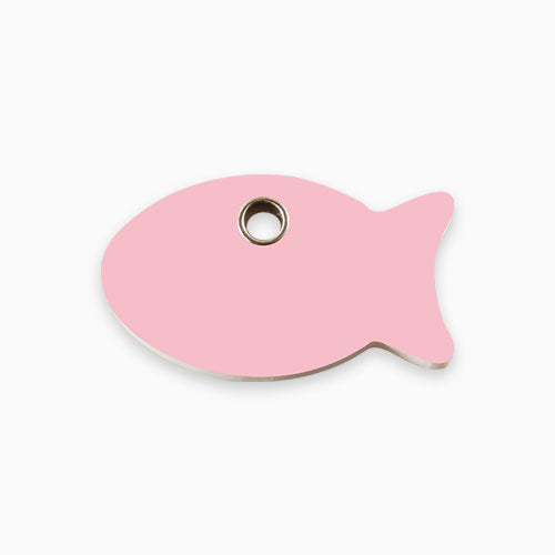 Plastic Tag Fish (10 colours)