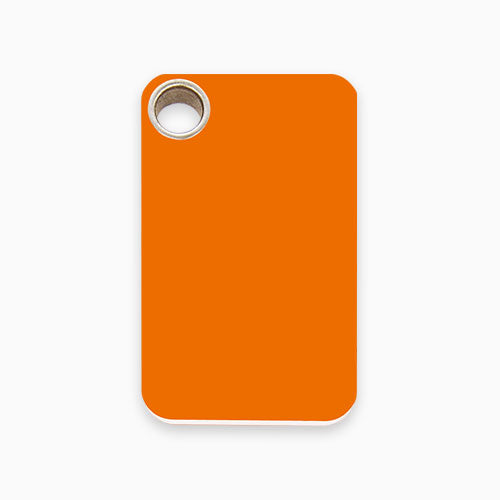 Plastic Tag Rectangular (10 colours)