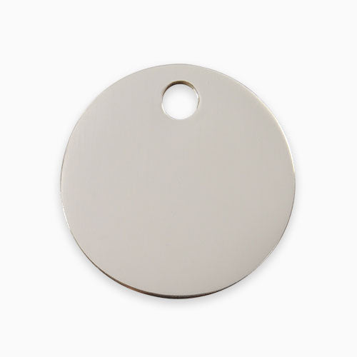 Stainless Steel Tag Circle