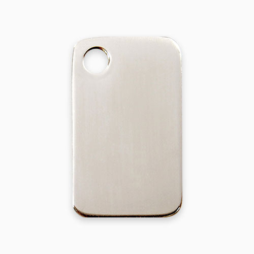 Stainless Steel Tag Rectangular