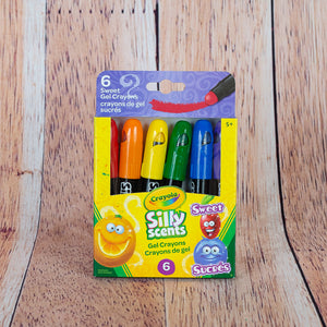 6 Crayons de gel Silly scents de Crayola