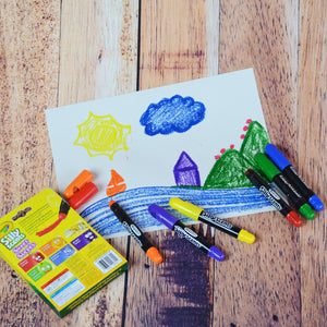 Crayons de gel Silly scents de Crayola - photo de Amuzart