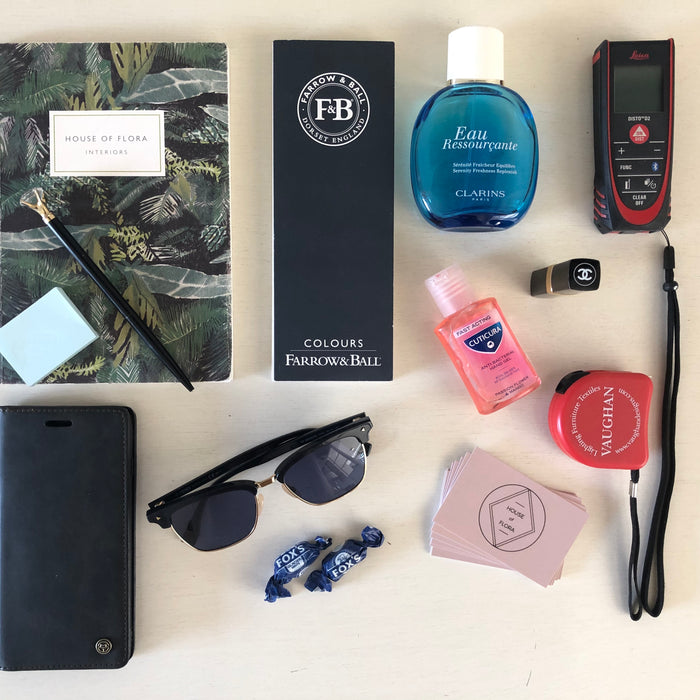 Life of an Interior Designer: A look inside my bag.