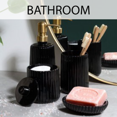 Furnish your bathroom with our carefully selected pieces