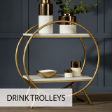 House of Flora Drinks Trolley