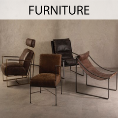 Furnish your home with our carefully selected furniture pieces