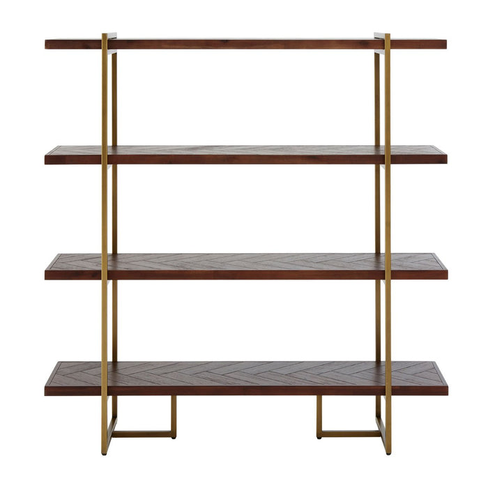 Brando Bookcase Brando shelf with metal frame