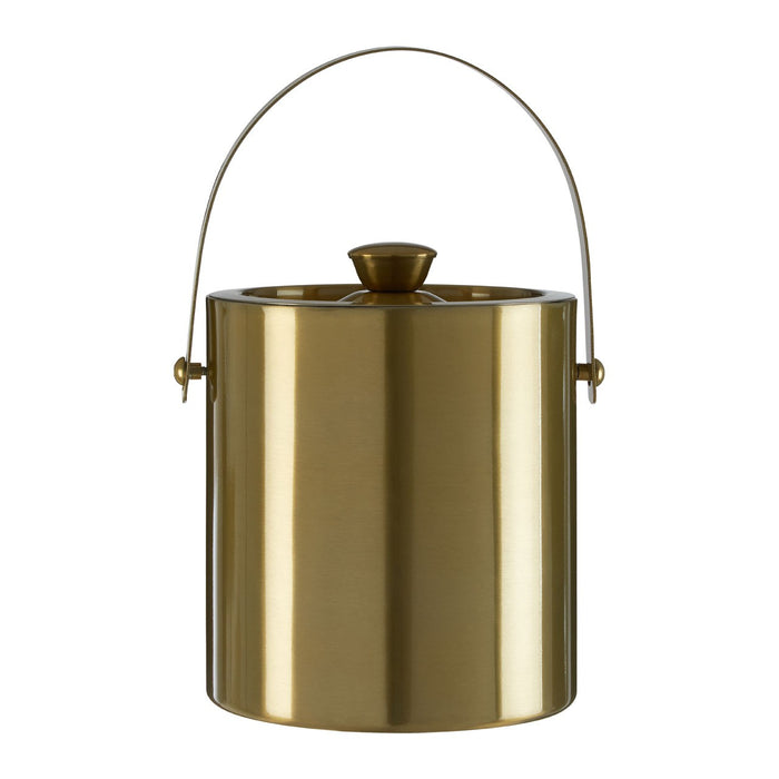 Aurum stainless steel ice bucket with lid