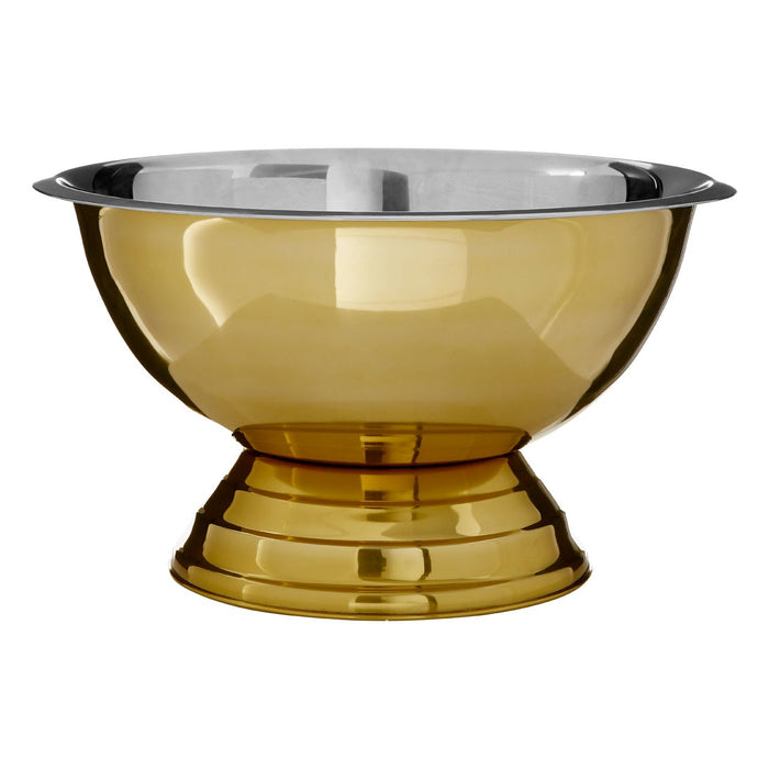 Aurum Gold Stainless Steel  Punch Bowl