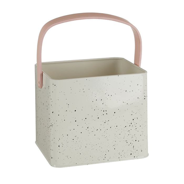 Speckled Metal Peg Box