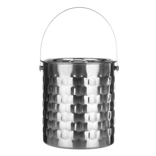 Dimple Ice Bucket With Lid