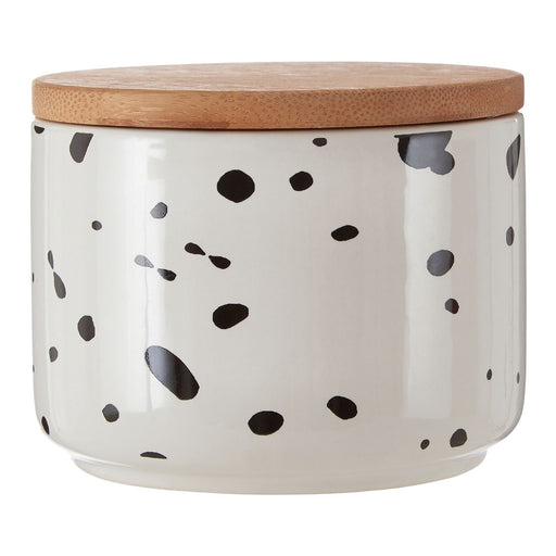 Speckled canister small