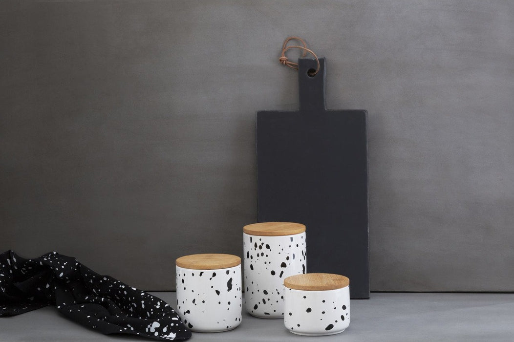 Small Speckled Canister