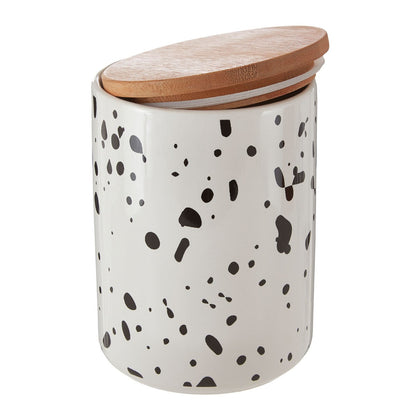 Large Speckled Canister
