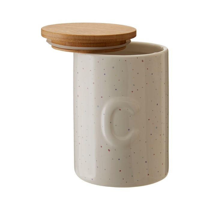 Speckled Coffee Canister