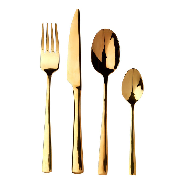 Luxe Gold Cutlery Set (16 Piece)