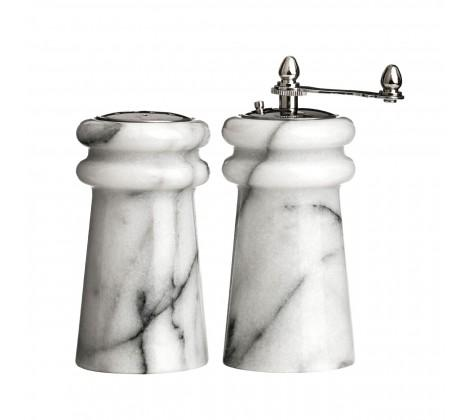Marble Salt & Pepper Mill Set