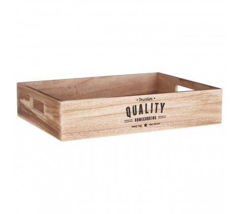 Natural Rustic Quality Crate