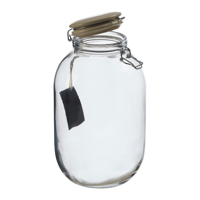 The Ceramic Wire Glass Jar Large