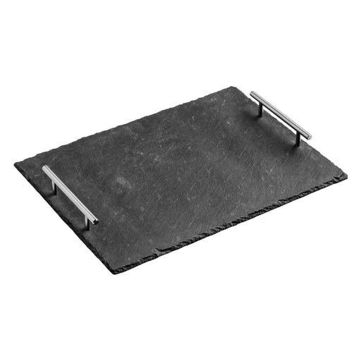 Slate Serving Tray With Handles 39cm x 30cm