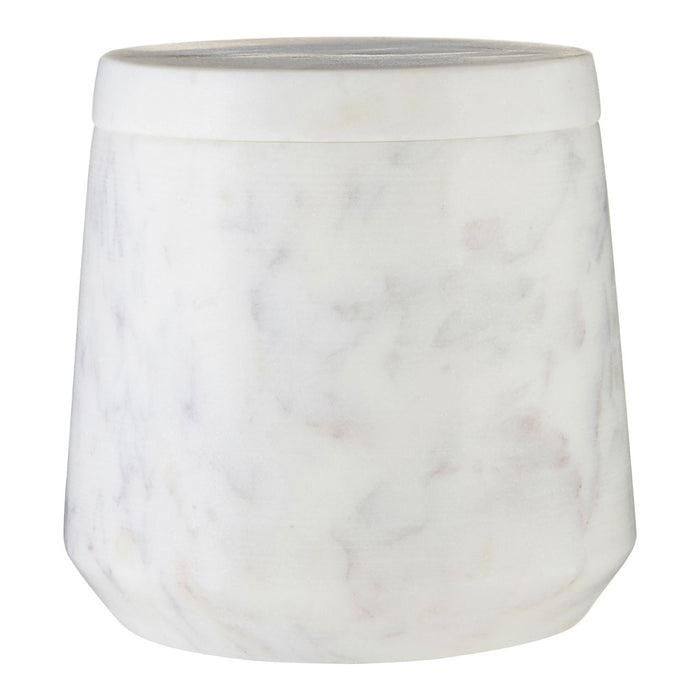 Marble Cotton Jar