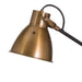 Adjustable Black & Gold Table Industrial Lamp