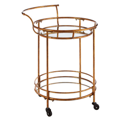 Two Tier Serving Trolley