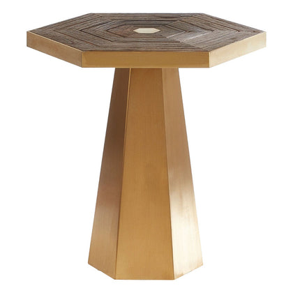 Hexagon Side Table Large