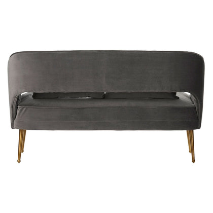 Taupe Two Seater Sofa