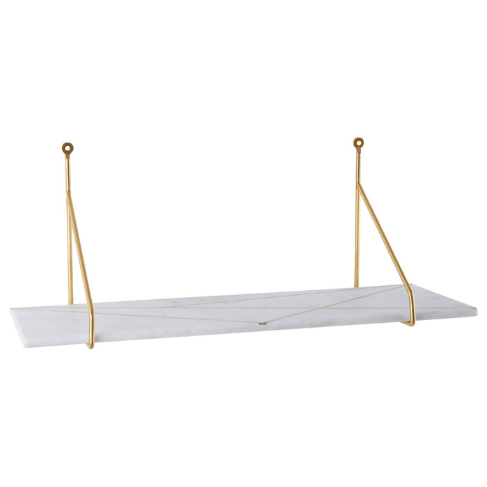 Mkono White Marble Shelf
