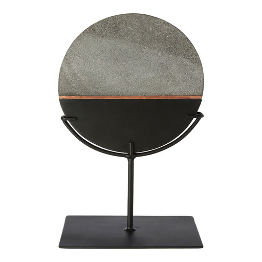 Lava Stone Disc On Stand