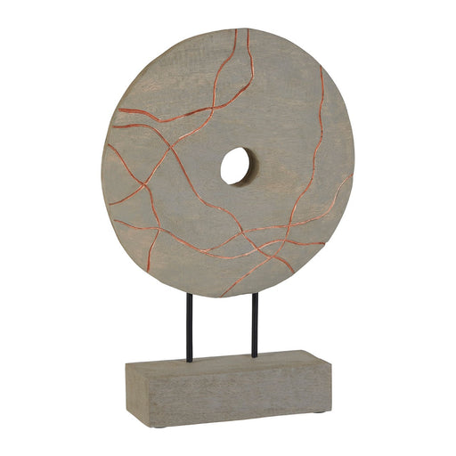 Mango Wood Copper Canyon Disc On Stand