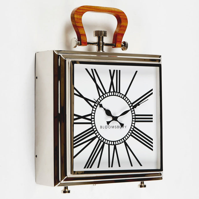 The Hampstead White Mantel Clock