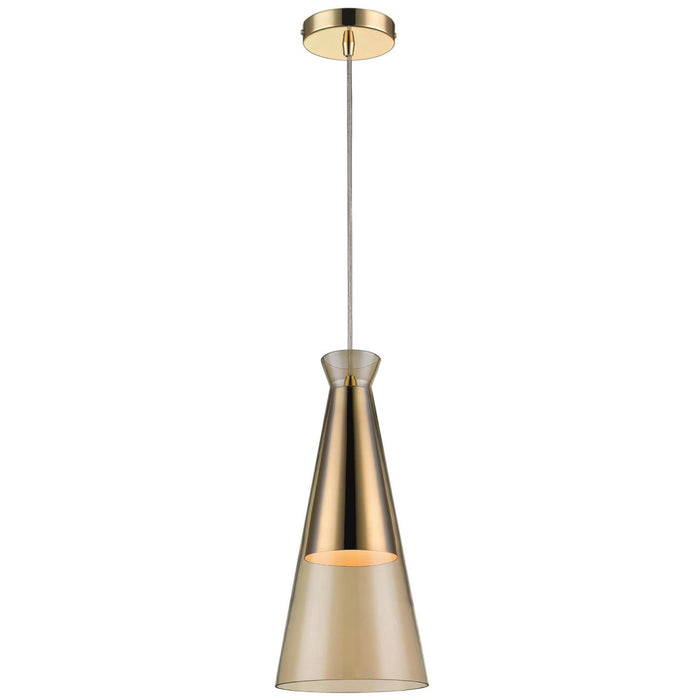 Kajam Champagne Gold Pendant Light