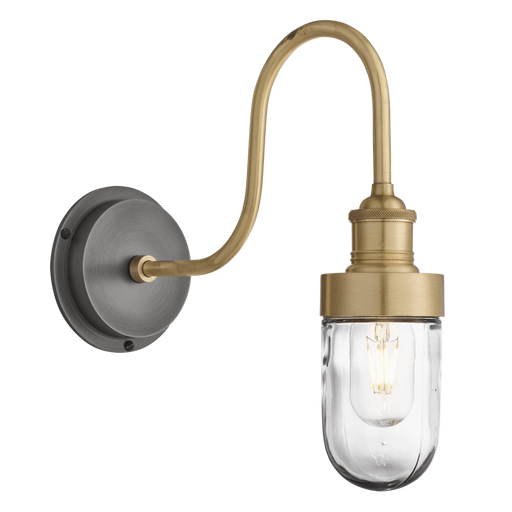 Swan Neck Tubular Wall Light Indoor/Outdoor