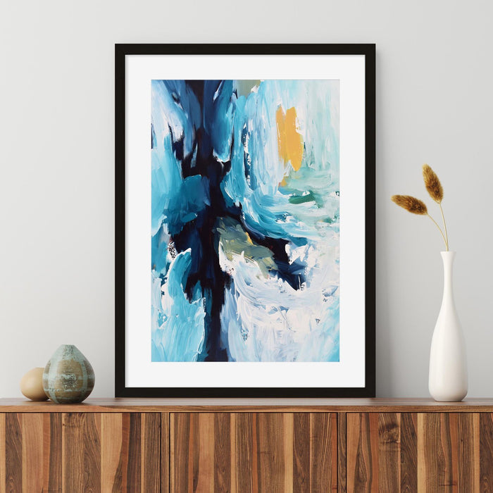 Modern Abstract Art Print IV Wall Hung