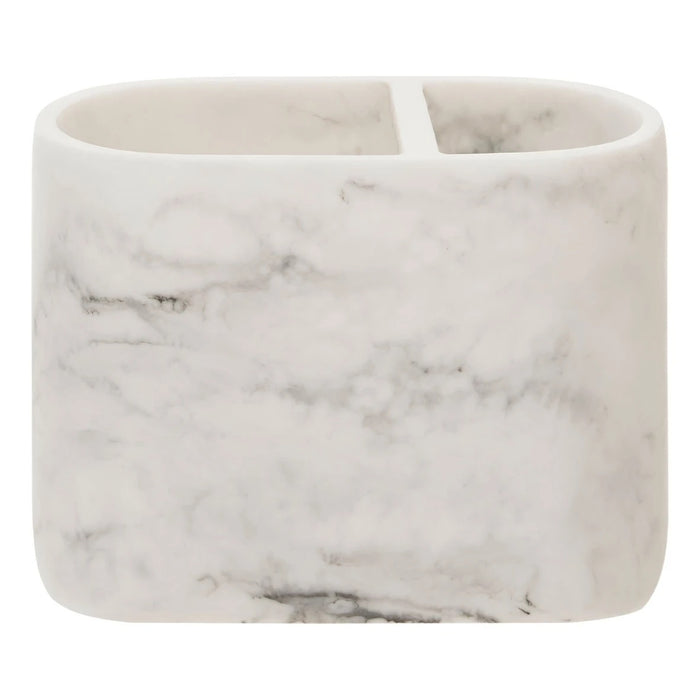 Marble Effect Bathroom Accessory Set of 5