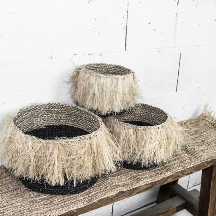 The Aloha Baskets - Black - Set of 3