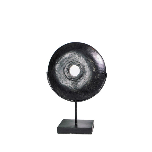 The Black River Stone on Stand - Medium