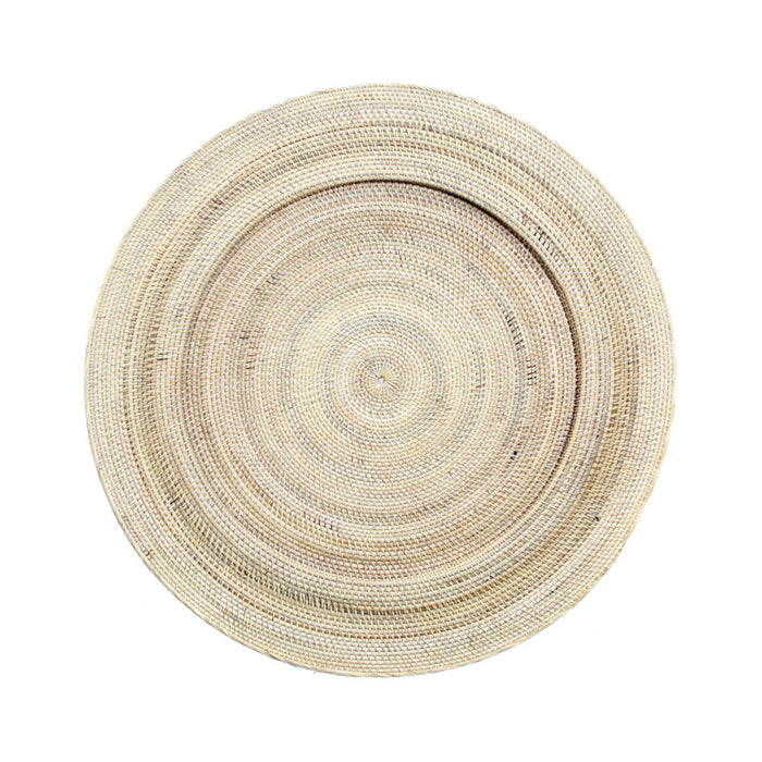 Natural Jasmine Wall Plate - Medium